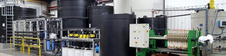 Station eau déminéralisée