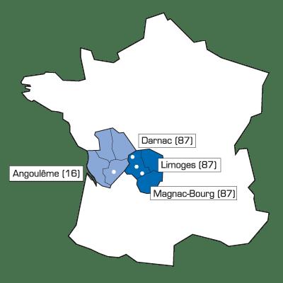 localisation sites TEGMA